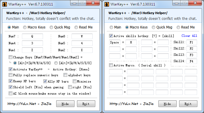 Download Warkey 6.7 English